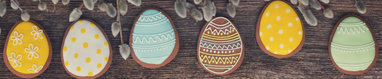 Recept Velikonoční kakaové sušenky s polevou