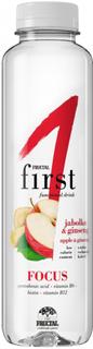 Fructal Funkční voda Focus jablko a ženšen 500ml