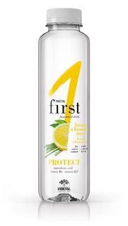 Fructal Funkční voda Protect citron a citronová tráva 500ml