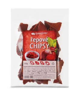Damodara Chipsy řepové 100g