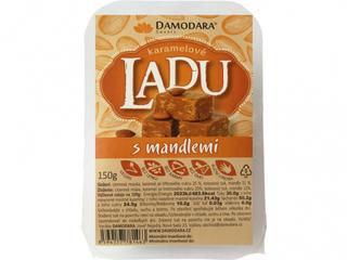Damodara Ladu karamelové s mandlemi 150g