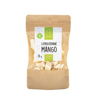 NATU Mango lyofilizované 20g Bio