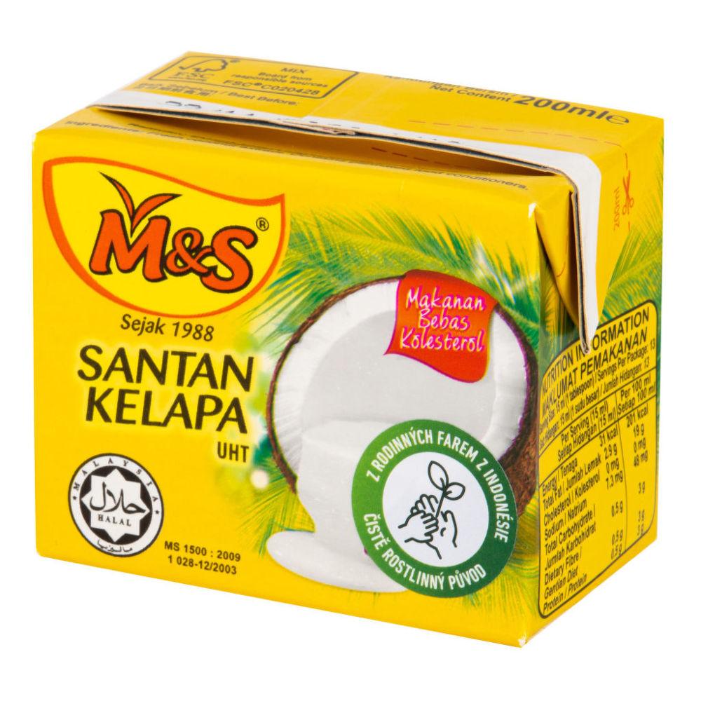 M&S Kokosová alternativa smetany 21 % tuku 200ml