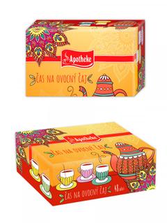 Apotheke Dárková kolekce ovocných čajů 48 n.s.