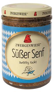 Zwergenwiese Hořčice sladká bavorská 160ml Bio