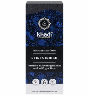 Khadi Rostlinná barva na vlasy čisté indigo 100g