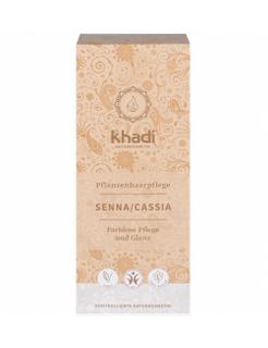 Khadi Rostlinná barva na vlasy Senna Cassia 100g