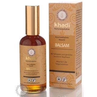 Khadi vlasový olej balzám proti lupům a svědivé pokožce 100ml