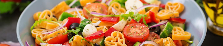 Recept Lehký těstovinový salát