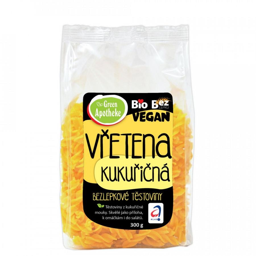 Green Apotheke Těstoviny vřetena kukuřičná 300g Bio