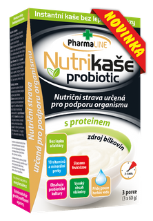 Mogador Nutrikaše probiotic s proteinem 180g (3x60g)