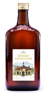 Grešík Děčínský zámecký likér 0,7 l