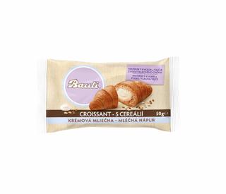 Bauli Croissant 5 cereálií mléčná náplň 50g