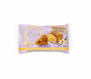 Bauli Croissant s vanilkovou náplní 50g