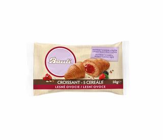 Bauli Croissant 5 cereálií lesní ovoce 50g