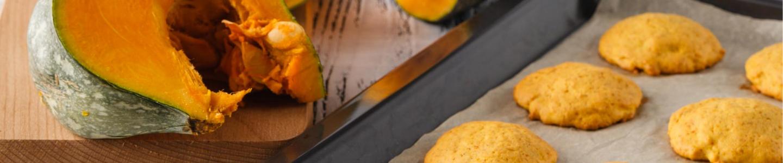 Recept Halloweenské dýňové sušenky se skořicí