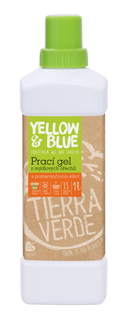 Yellow & Blue Prací gel z mýdlových ořechů s pomerančovou silicí 1l
