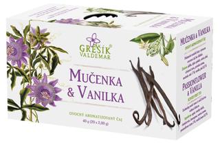 Grešík Čaj Mučenka a vanilka 20x2g