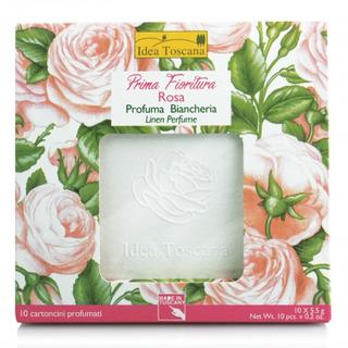 Prima Fioritura Růžový vonný papír do šatníků a kabelek 10ks