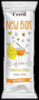 Cerea Newbar Tyčinka tvaroh a citron 28g