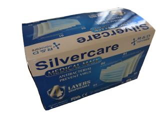 Silvercare Rouška jednorázová 50ks
