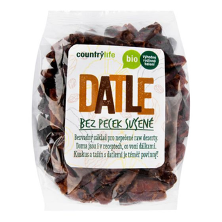 Country Life Datle bez pecek 500g Bio
