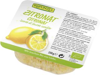 Rapunzel Kandovaná citronová kůra 100g Bio