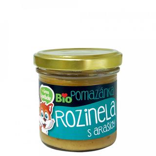 Green Apotheke Pomazánka Rozinela s arašídy 140g Bio