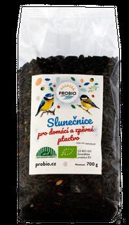 PROBIO Slunečnice pro domácí a zpěvné ptactvo 700g Bio