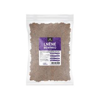 Allnature Lněné semínko hnědé 1000g