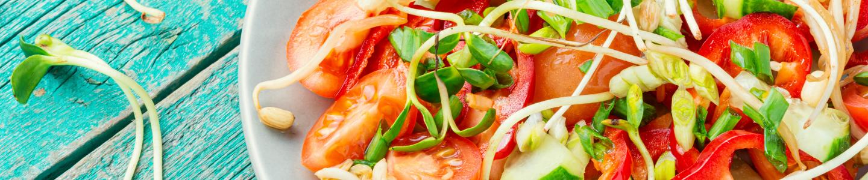 Recept Zeleninový salát s klíčky