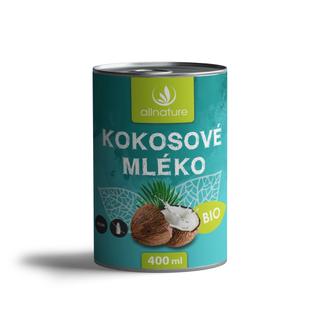 Allnature Kokosové mléko 400ml Bio