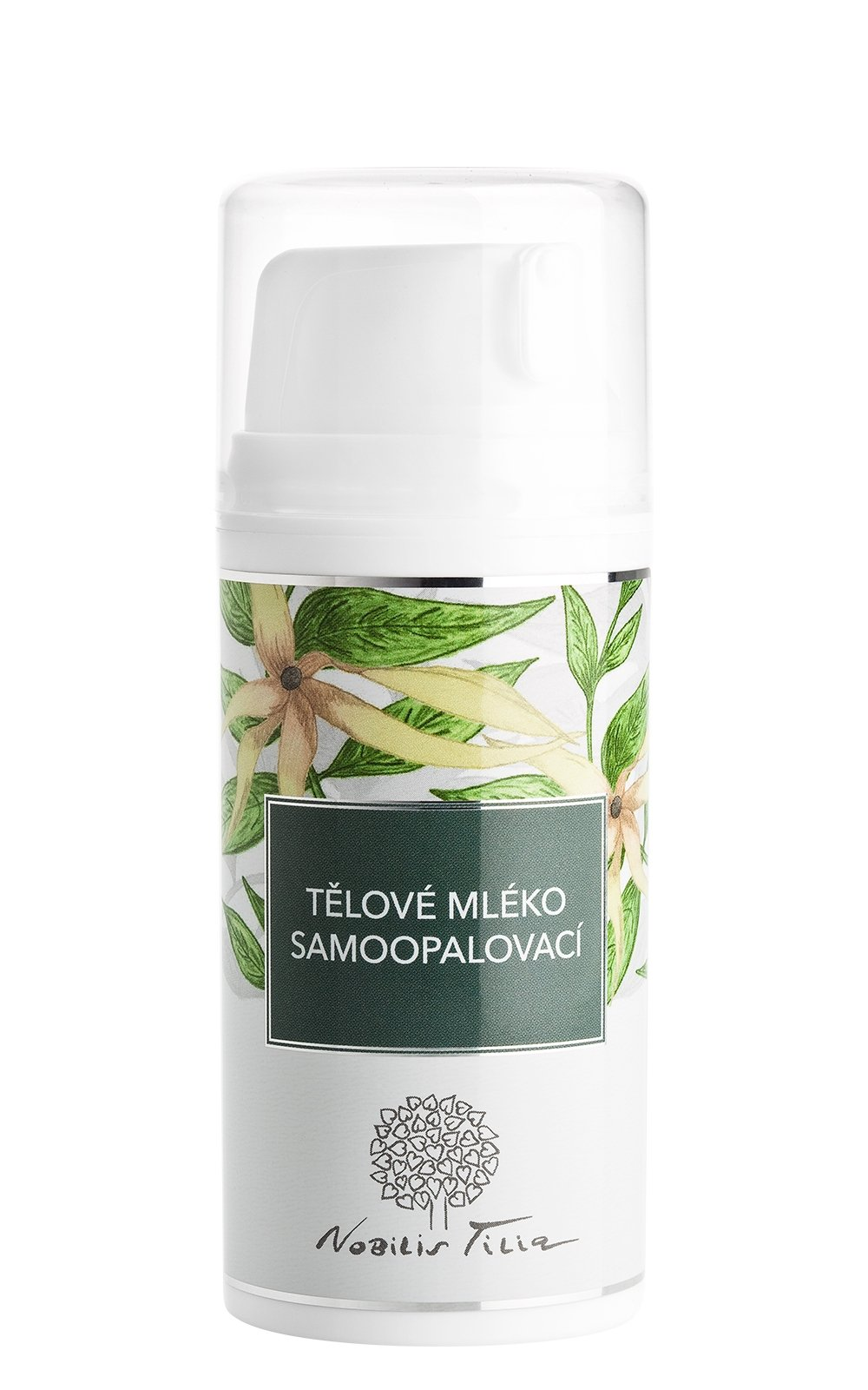 Nobilis Tilia Tělové mléko samoopalovací 100ml
