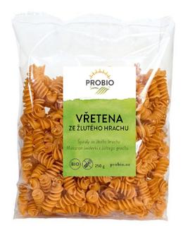 PROBIO Těstoviny vřetena ze žlutého hrachu 250g Bio