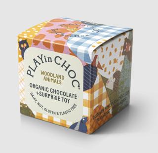 PLAYin CHOC Čokoláda 20g s hračkou - lesní zvířátka