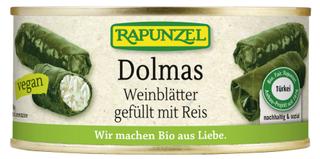 Rapunzel Dolmas Vinné listy plněné rýží 280g Bio