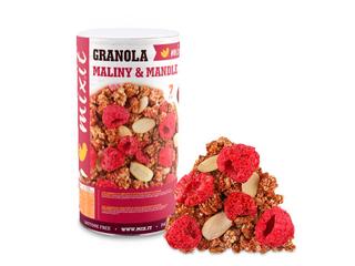 Mixit Granola z pece - Maliny a mandle 440g