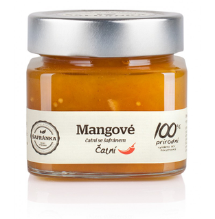 Šafránka Mangové čatní - čili čatní se šafránem 270g