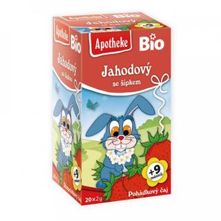 Apotheke Pohádkový čaj jahodový s šípkem Bio 20x2g