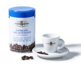 Miscela d´Oro Espresso bez kofeinu mletá káva plechovka 250g