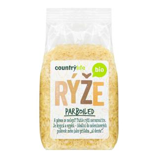 Country Life Rýže parboiled 500g Bio