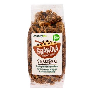 Country Life Granola s karobem 350g Bio