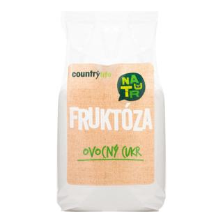 Country Life Cukr ovocný fruktóza 500g