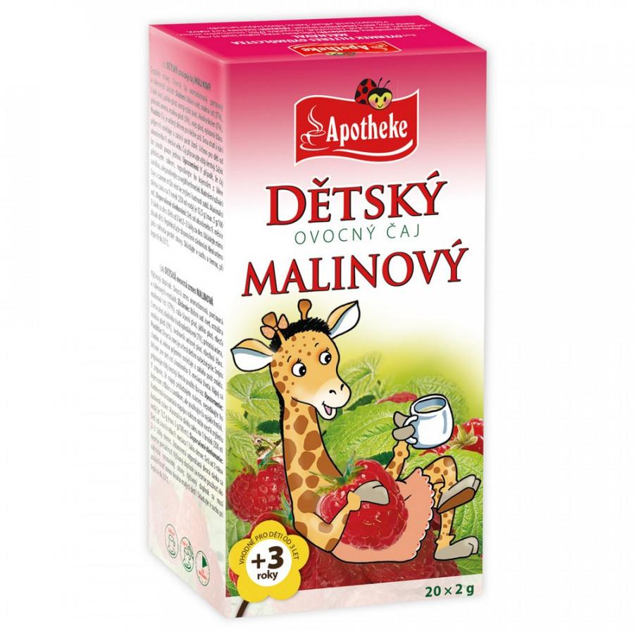 Apotheke Dětský čaj Malinový 20x2g