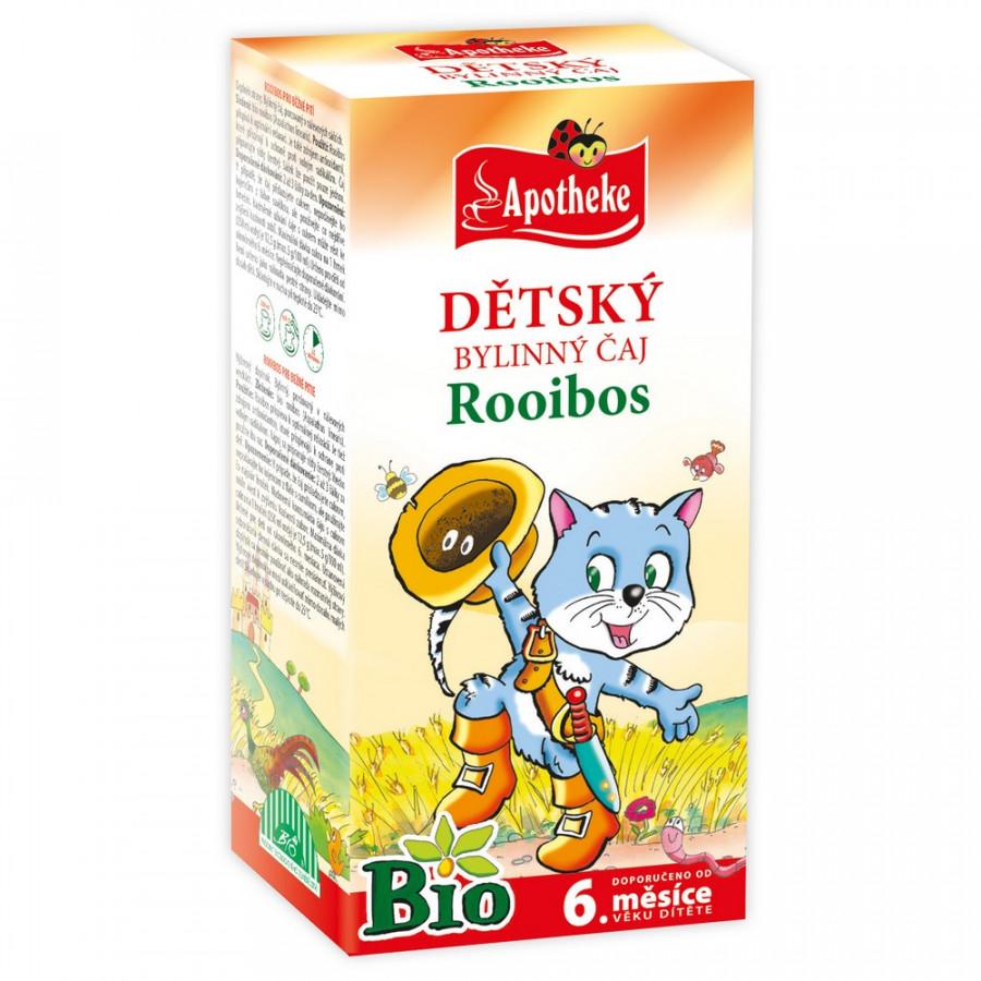 Apotheke Dětský čaj BIO Rooibos 20x1,5g